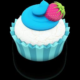 Ocean Cupcake Sticker