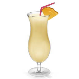 Cocktail Pina Colada Sticker