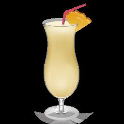 Cocktail Pina Colada Sticker