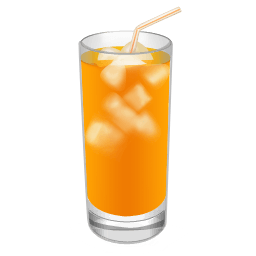 Cocktail Screwdriver Orange Sticker