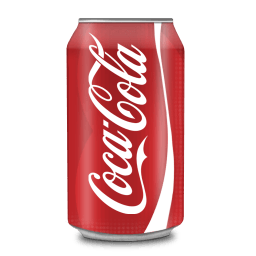 Coca Cola Can Sticker