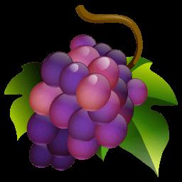 Grapes Sticker