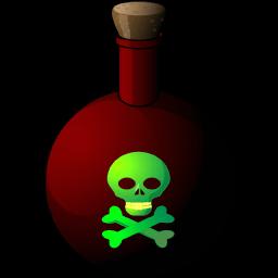 Poison Sticker