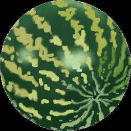 Water Melon Sticker