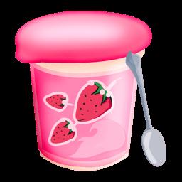 Yoghurt Sticker