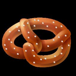 Bread Pretzel Sticker