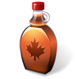 Maplesyrup Sticker