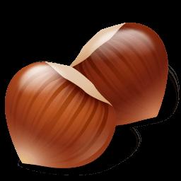 Nut Hazelnut Sticker