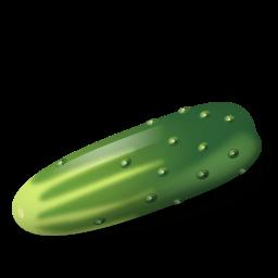 Vegetable Cucumber Sticker
