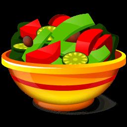 Salad Sticker