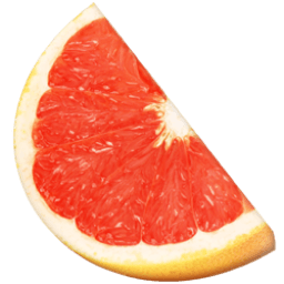 Grapefruit Sticker