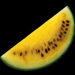 Yellow Watermelon Sticker
