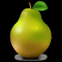 Pear Sticker