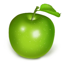 Apple Green Sticker
