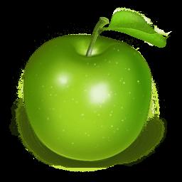 Apple Green Sticker