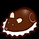 Souris En Chocolat Sticker
