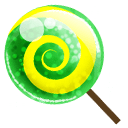 Candy Green Sticker