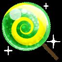 Candy Green Sticker
