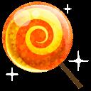 Candy Orange Sticker