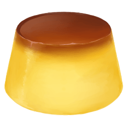 Pudding Sticker