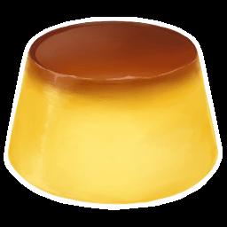 Pudding Sticker