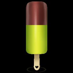 Ice Cream Green Sticker