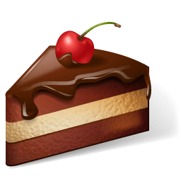 Cake Chocolate Sticker