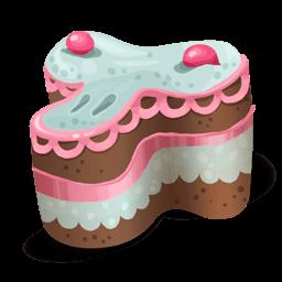 Cake 001 Sticker