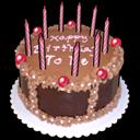 Birth Cake Sticker