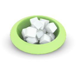Sugar Cubes Sticker