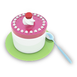 Tea Cake Sticker