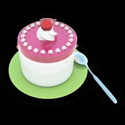 Tea Cake Sticker