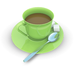 Tea Cup Sticker