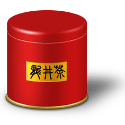 Tea Caddy Box Sticker