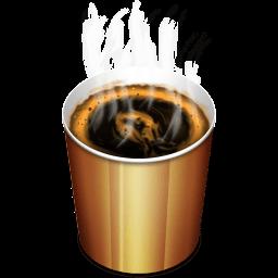 Coffee Hot Sticker