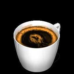 Cup 3 Coffee Sticker