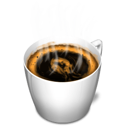 Cup 3 Coffee Hot Sticker