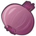 Onion Red Sticker
