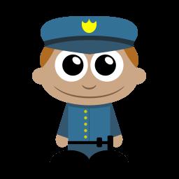 Policeman Sticker