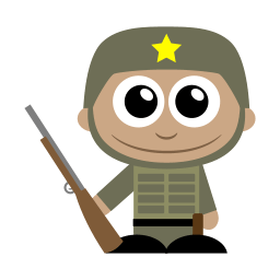 Soldier Sticker