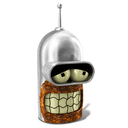 Bender Sober Sticker