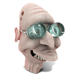 Professor Farnsworth Sticker
