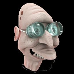 Professor Farnsworth Sticker