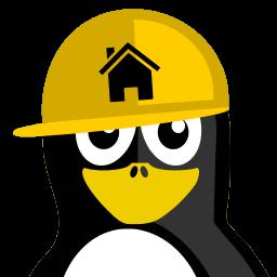 Constructor Tux Sticker