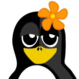 Flower Tux Sticker
