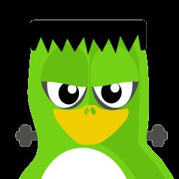 Frankenstein Tux Sticker
