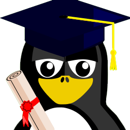 Graduation Tux Sticker