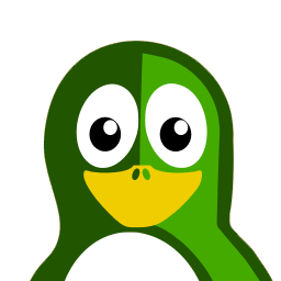 Green Tux Sticker