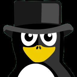 High Hat Tux Sticker