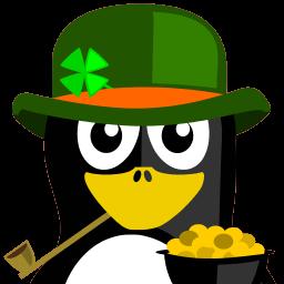 Irish Tux Sticker